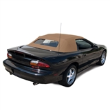 1994-2002 Chevy Camaro Black Convertible Soft Top Replacement - Black