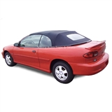 Cavalier/Sunfire Black Pinpoint Vinyl Convertible Soft Top Replacement
