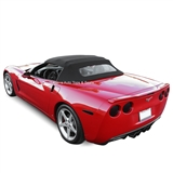 Chevrolet Convertible Top 2005-2013 Corvette TwillFast Canvas, Black