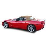 Tan convertible soft top for Chevy Corvette 2005-2013