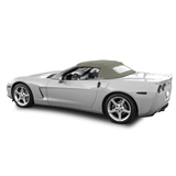 Corvette Convertible Top 05-13 C6 in Stone Twill Vinyl with Glass Window