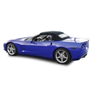 Chevrolet Convertible Top 2005-2013 Corvette Twill Grain Vinyl Black