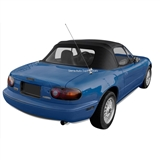 Replacement Mazda Miata Convertible Soft Top 1989-2005 - Black Vinyl