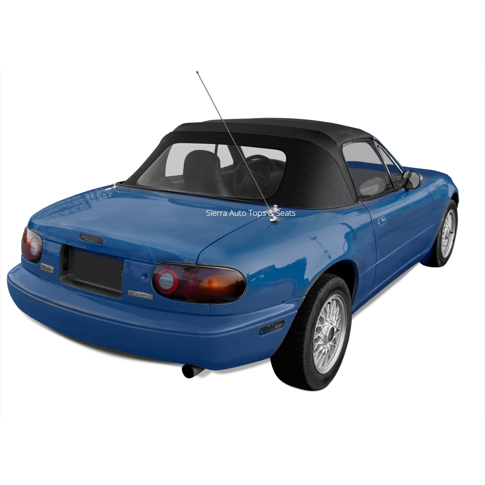 Mazda miata convertible soft top 1989 2005 black vinyl more photos email a friend fandeluxe Image collections