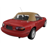 Mazda Miata Convertible Top 1989-2005- Light Tan Cabrio Vinyl