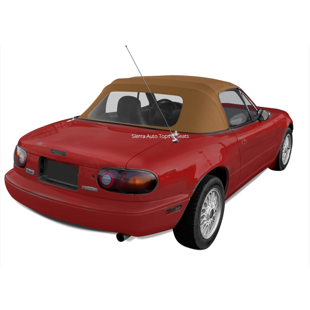 Covers for 1990-1996 Standard Seats Mazda Miata Pair of Front Seat Kit Tan