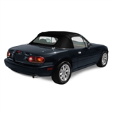 Mazda Miata 1987-97 Convertible Top Replacement & Plastic Window, Black