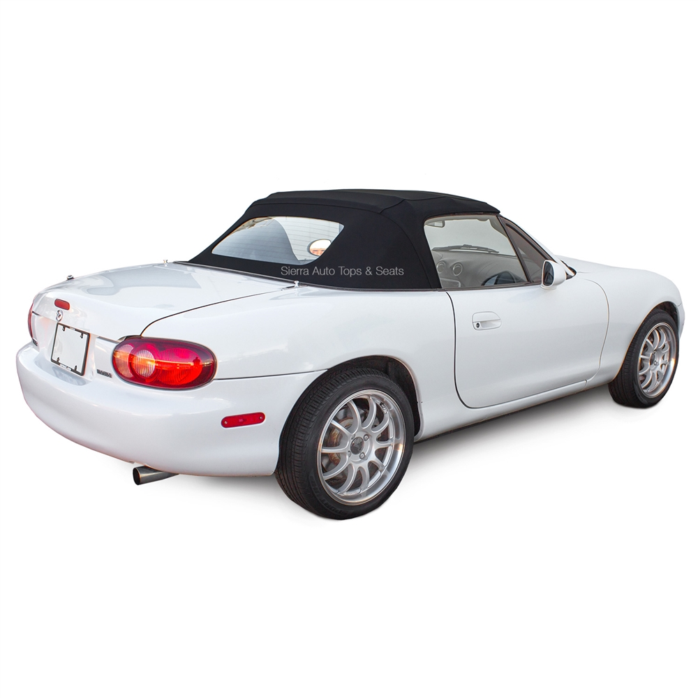 1990-2005 Mazda Miata Convertible Top: Stayfast Canvas & Heated Window