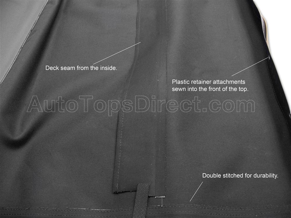 1990 2005 Mazda Miata Replacement Convertible Top