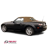 Mazda Miata Convertible Top 2006-2014 - Black Cabrio Vinyl