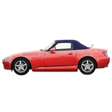 2000-2001 Honda S2000 Convertible Top - Blue Cloth, Plastic Window