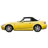 Honda S2000 Convertible Soft Top - Black Stayfast Canvas
