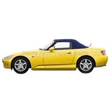 2000-2001 Honda S2000 Convertible Top - Blue Cloth, Glass Window