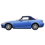 2000-2001 Honda S2000 Convertible Top - Blue Vinyl, Glass Window