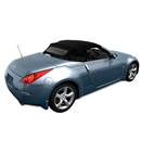 Replacement 2004-2009 Nissan 250Z Black Replacement Soft Tops