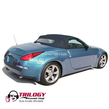 Nissan 350Z 2004-2009 Convertible Top w/ Window - Dark Blue