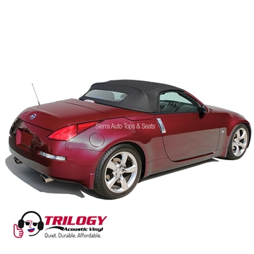 Nissan 350z 2004 2009 Convertible Top With Window Black