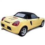 Toyota MR2 Spyder Cabrio Grain Vinyl Convertible Top - Black