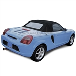 2000-2007 Toyota MR2 Spyder Convertible Top Replacement – Black Vinyl