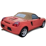 Replacement 2000-2007 Toyota MR2 Spyder Convertible Top - Tan Vinyl