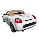 2000-2007 Toyota MR2 Spyder Convertible Top Replacement - Beige Cloth