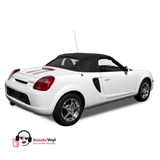 Replacement Toyota MR2 Black Convertible Top - Twill Grain Vinyl