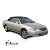 Replacement Toyota Solara 2000-2003 Convertible Top & Window - Black