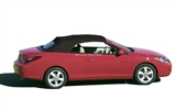 Replacement Toyota Solara 2004-2008 Convertible Top & Window - Black