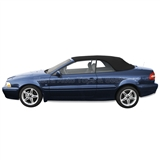Volvo C70 Convertible Top 1999-2006 - Black, Haartz Stayfast