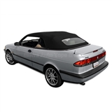 Saab 900S & 900SE 1995-96 Convertible Top - Black Stayfast
