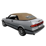 Saab 900S & 900SE 1995-96 Convertible Top - Tan Stayfast
