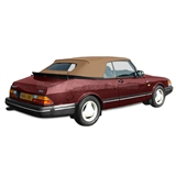 Saab 900 1986-94 Convertible Top & Window - Tan Twillfast II