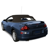Replacement 2000-2005 Mitsubishi Eclipse Convertible Top - Black