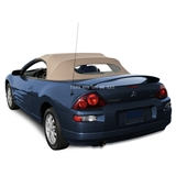 2000-2005 Mitsubishi Eclipse Spyder Convertible Top Replacement, Beige