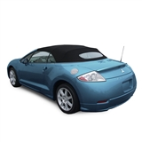 2006-2009 Mitsubishi Eclipse Spyder Convertible Top Replacement, Black