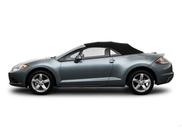 2006-2011 Mitsubishi Eclipse Convertible Top Replacements, Black Vinyl