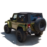 Jeep Wrangler JK Sailcloth Soft Top