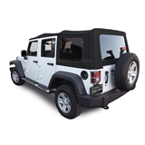 Jeep Wrangler JK Twill Canvas Soft Top