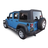 Jeep Wrangler JK Sailcloth Soft Tops