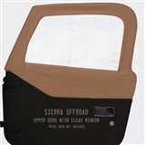 Saddle Soft Upper Doors for Jeep Wrangler TJ