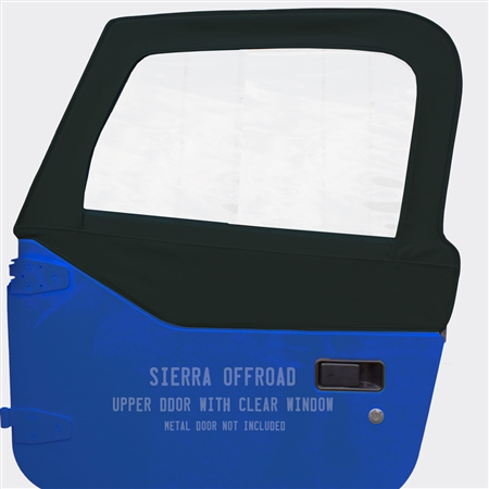 Sierra Offroad Soft Upper Doors for Jeep Wrangler - Blue Twill