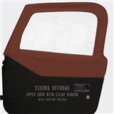 Sierra Offroad Upper Doors for Jeep Wrangler - Bordeaux