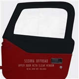 Sierra Offroad Upper Doors for Jeep Wrangler - Black