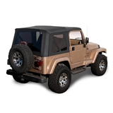 Replace Sierra Off-Road Soft Top, Black Denim Jeep Replacement Top | Auto Tops Direct