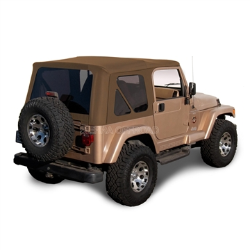 Replace Sierra Off-Road Soft Top, Spice Denim Jeep Replacement Top | Auto Tops Direct