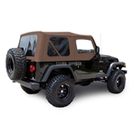Sierra Offroad TJ Wrangler Top & Door Skins | Saddle Sailcloth