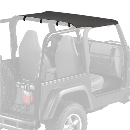 Replacement Jeep Sun Top for 1997-2006 Wrangler TJ - Black Denim