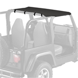 Replacement Jeep Sun Top for 1997-2006 Wrangler TJ - Black Diamond