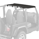 Replacement Jeep Sun Top for 1997-2006 Wrangler TJ - Black Sailcloth