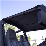 Replacement Jeep Sun Top for 1992-1995 Wrangler YJ - Black Sailcloth